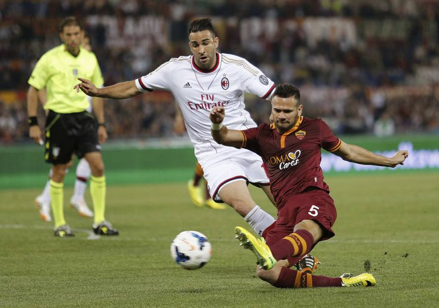 Castan anticipa Rami. Action Images